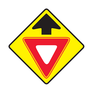 This sign means: